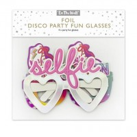 Disco Party Fun Glasses 4ct