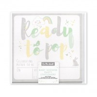 Pastel Ready to Pop Invites & Thank You Notes 16ct