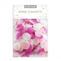 Pink Tissue Paper Confetti 14G