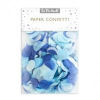 Blue Tissue Paper Confetti 14g