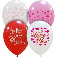 "Superior 11"" Love You Latex 50ct"