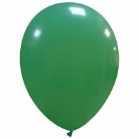 "Superior 12"" Solid Colour Green Latex 100ct"