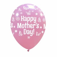 "Superior Happy Mother's Day 12"" Pink 25ct"