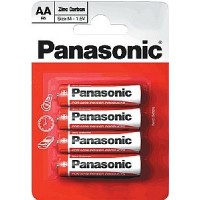 Panasonic AA 4pk Batteries Box of 12