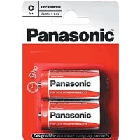 Panasonic Zinc Chloride C 2pk Batteries - Box Of 12