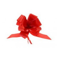 Super Red Pull Bow 50mm - Pack of 20