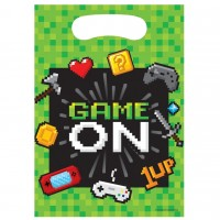 Gaming Party Loot Bags 8Ct
