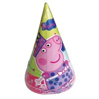 Peppa Pig Hats 8ct