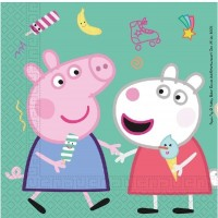 Peppa Pig Napkins 16CT
