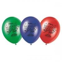 """PJ Masks 11"""" Latex Balloons 8ct"""