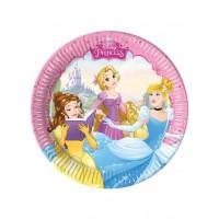 Princess Dreaming - Disney -23cm Plates 8Ct