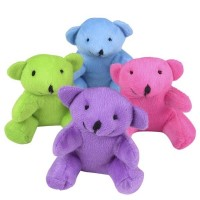 Colourful Value Bear 30cm - 3Asst