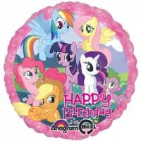 "My Little Pony Happy Birthday 18"" Foil Balloon"