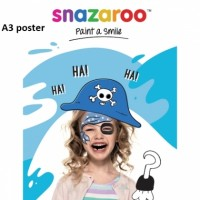 Snaz Paint a Smile Poster