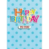 #16 Greeting Cards - Open Male 12pk