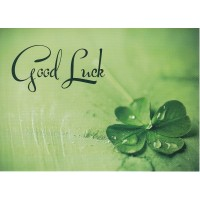 #66 Greeting Cards - Good Luck 12pk