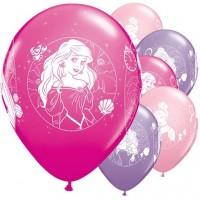 """Princess Dreaming - Disney -  11"""" Latex Balloons 8Ct"""