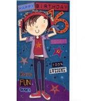 Age 16 - Boy - Pack Of 12