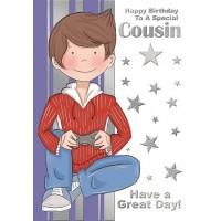Happy Birthday - Cousin (Boy) - Pack Of 12