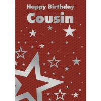 Happy Birthday - Cousin (Male) - Pack of 12