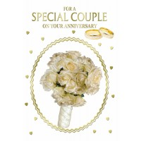 Anniversary  Wishes - For A Special Couple -  Pack Of 12