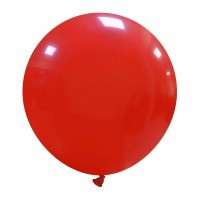 "Dark Red Superior 19"" Latex Balloon 25Ct"