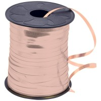 Curling Ribbon Metallic 5mm x250yds Rose Gold