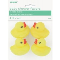 12PK BABY SHOWER RUBBER DUCKS