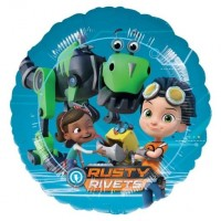 "Rusty Rivets 18"" Foil Balloon"
