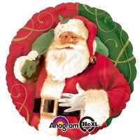 "Santa Claus - 18"" Foil Balloon"