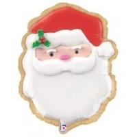 """Santa Head 24"""" Supershape"""