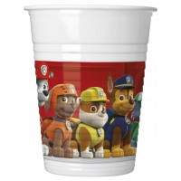 Paw Patrol Plastic Cups 8ct