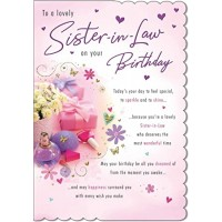 Happy Birthday - Sister-in-Law - Pack Of 12