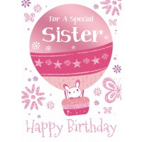 Happy Birthday - Special Sister - Pack Of 12