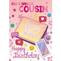 Happy Birthday - Cousin (Female) - Pack Of 12