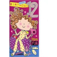 Age 12 - Girl - Pack Of 12