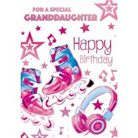 Happy Birthday - Granddaughter - Pack Of 12