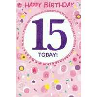 Age 15 - Girl - Pack Of 12
