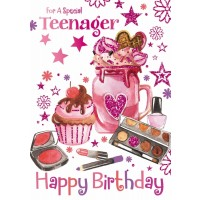 Happy Birthday - Teenage Girl - Pack Of 12