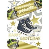 Happy Birthday - Teenage Boy- Pack Of 12