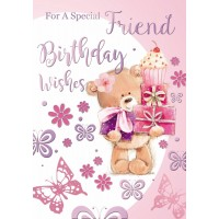 Happy Birthday - Special Friend (Female)  - Pack Of 12
