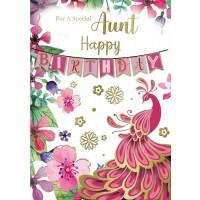 Happy Birthday - Aunt - Pack Of 12