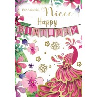 Happy Birthday - Niece - Pack Of 12