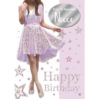 Happy Birthday - Special Niece - Pack Of 12