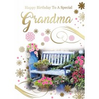 Happy Birthday - Special Grandma - Pack Of 12