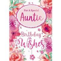 Happy Birthday - Auntie - Pack Of 12