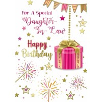 Happy Birthday - Daughter In Law - Pack Of 12