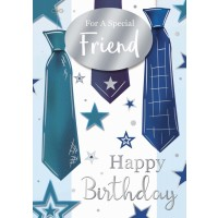 Happy Birthday - Special Friend (Male) - Pack Of 12