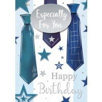 Happy Birthday - Especially For You (Male) - Pack Of 12
