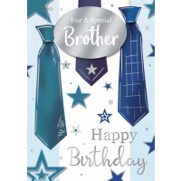 Happy Birthday - Brother - Pack Of 12
